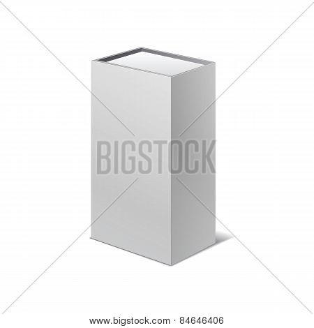 Packing Box Bottle Set Icons Vector Illustration Isolated White Background