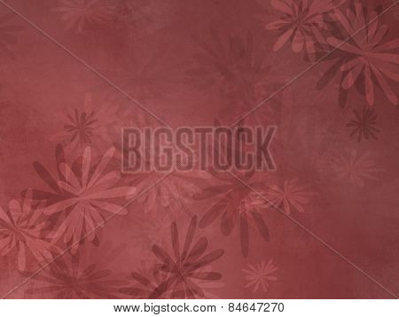 Floral pattern background with soft texture