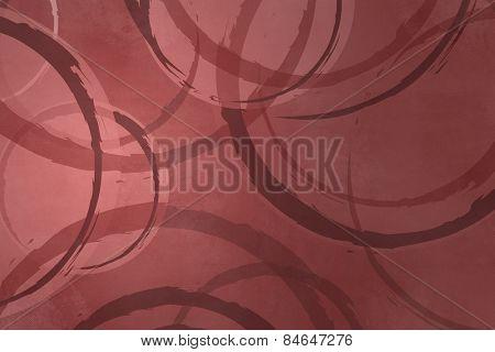 Circle background marsala color