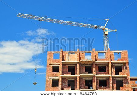 Apartment house building.