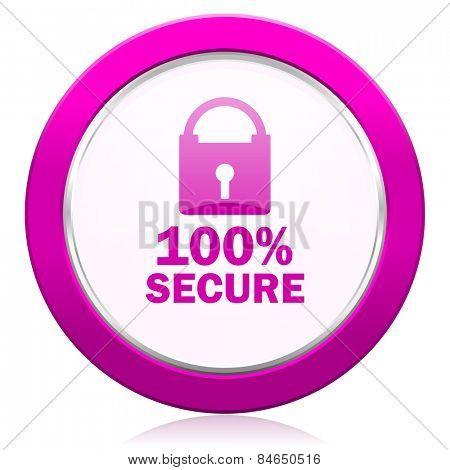 secure violet icon