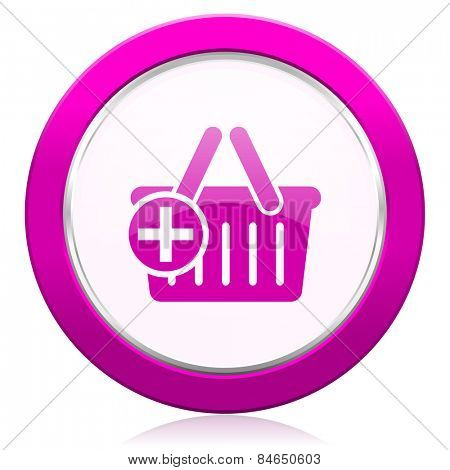 cart violet icon shopping cart symbol