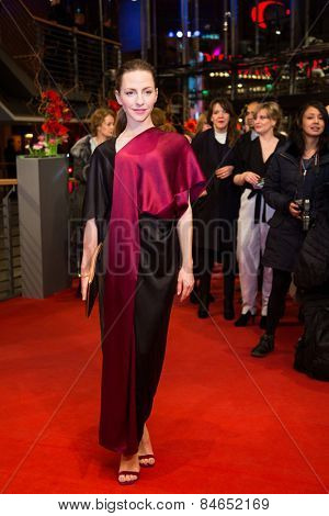 BERLIN, GERMANY - FEBRUARY 14: Katharina Schuettler attends the Closing Ceremony of the 65th Berlinale International Film Festival on February 14, 2015 in Berlin, Germany.