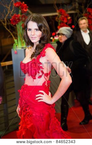 BERLIN, GERMANY - FEBRUARY 14: Ruby O Fee attends the Closing Ceremony of the 65th Berlinale International Film Festival at Berlinale Palace on February 14, 2015 in Berlin, Germany