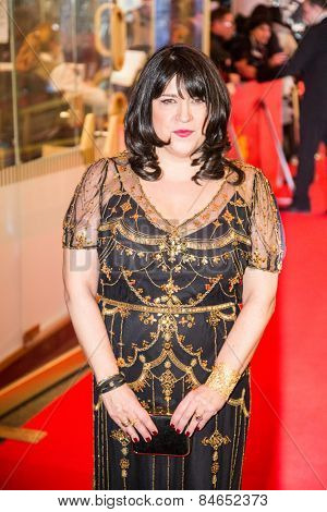 BERLIN, GERMANY - FEBRUARY 11: British author  E. L. James, 'Fifty Shades of Grey' premiere. 65th Berlinale International Film Festival at Zoo Palast on February 11, 2015 in Berlin, Germany.