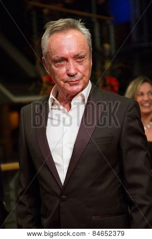 BERLIN, GERMANY - FEBRUARY 14: Udo Kier attends the Closing Ceremony of the 65th Berlinale International Film Festival at Berlinale Palace on February 14, 2015 in Berlin, Germany.