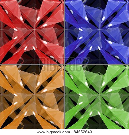 Background - Seamless Texture - Quatrefoil