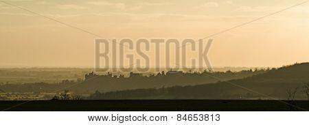 Arundel At Sunset