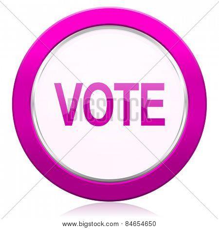 vote violet icon