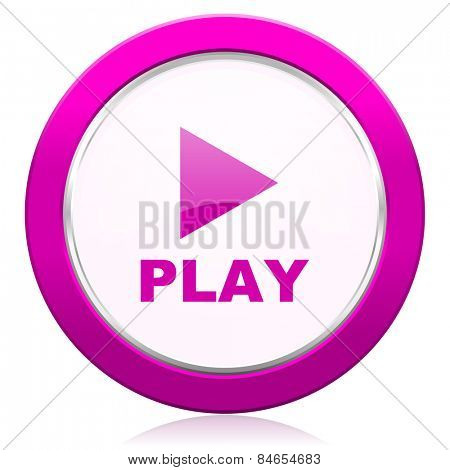 play violet icon