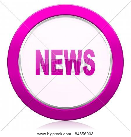 news violet icon