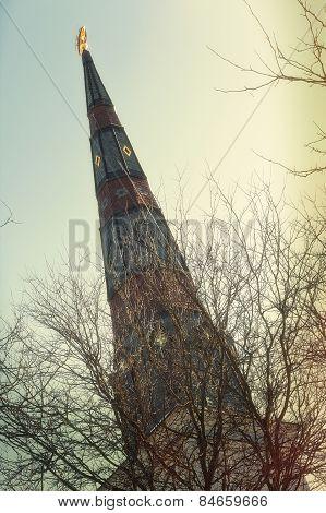 Spooky Church Steeple