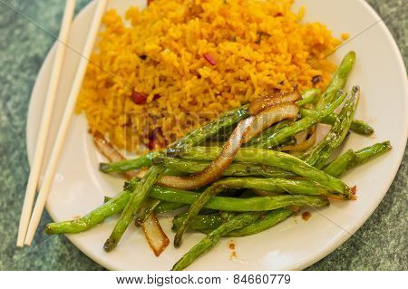 Chinese Sauteed String Beans