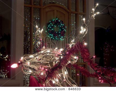 Reindeer at the Door