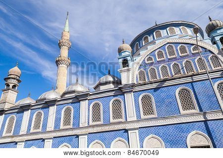 Exterior Of Fatih Camii (esrefpasa) Mosque In Izmir, Turkey