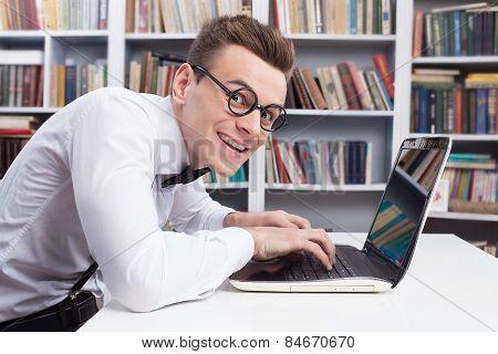 Computer Geek.