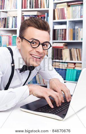 Computer Nerd. Side