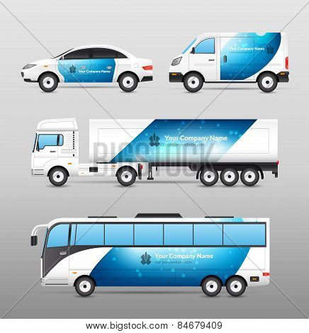 Transport Advertisement Design