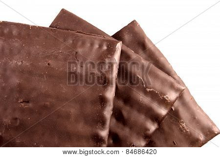 Chocolate matzos for Passover
