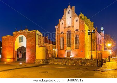 St Joseph's Church in Gdansk, Poland