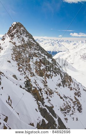 Winter Landscape In Tirol