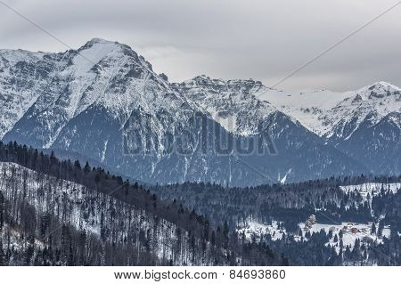 Majestic Bucegi Mountains