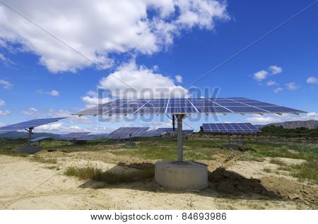 photovoltaic panel for renewable electric production energy