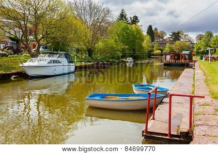 Tiverton Canal Devon