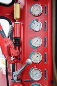 pic of electricity meter  - Meters or gauge in crane cabin for measure Maximun load - JPG
