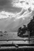picture of lagos  - The view of  the Lago Maggiore in  Italy - JPG