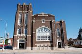 stock photo of deacon  - This is the First United Methodist Church in Mt - JPG