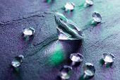 stock photo of diamond  - differernt diamonds - JPG