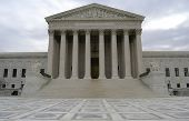 stock photo of supreme court  - supreme court building in washington dc - JPG