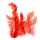 stock photo of insults  - Abstract watercolor background red for your  design insult - JPG