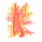 image of insulting  - Abstract watercolor background yellow - JPG