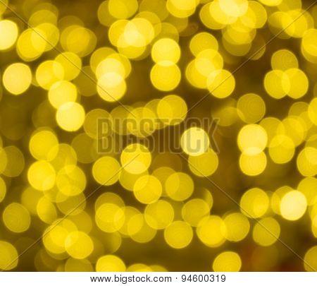 Golden sparkles.