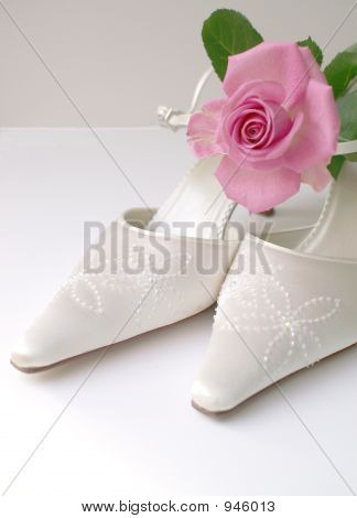 High Key Wedding Shoes