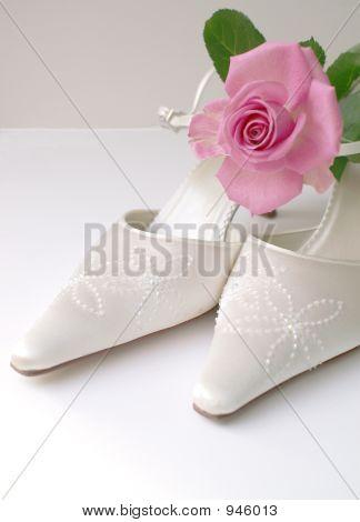 High Key Wedding Shoes