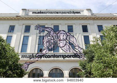 Musee art contemporain of Lyon, France