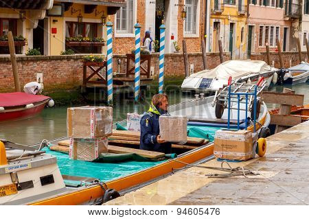 Venice. Water Transport.