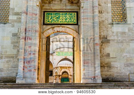 The Sultan Ahmed Mosque Is A Historic Mosque In Istanbul, Turkey.