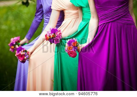 Bridesmaids On Wedding