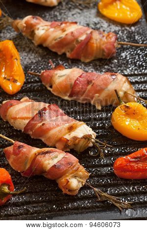 Bacon-wrapped Chicken Tenders