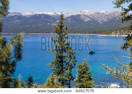 Fishing In Lake Tahoe