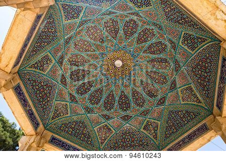 Tomb of Hafez ceiling mosaic