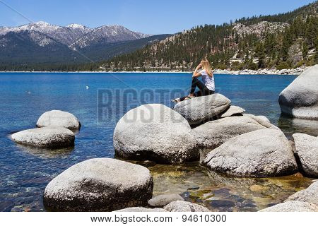 Relaxing In Lake Tahoe