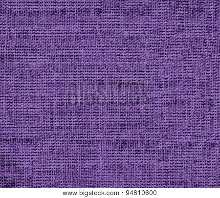 Dark lavender burlap texture background
