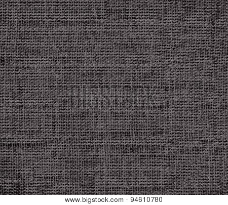 Dark liver burlap texture background