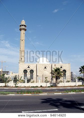 Tel Aviv Minaret Of Hasan-bey Mosque 2003
