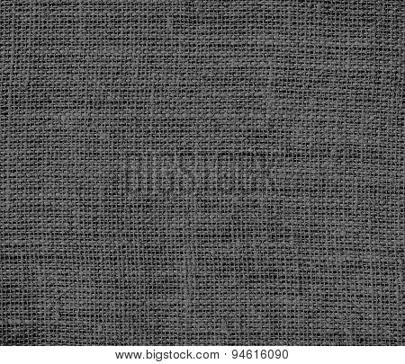 Davy grey burlap texture background